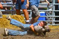 Lil' Wranglers Competition at the Bureau County Fair